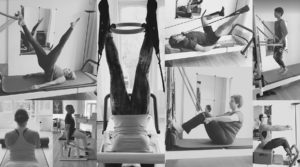 Pilates training collage The Hague Netherlands