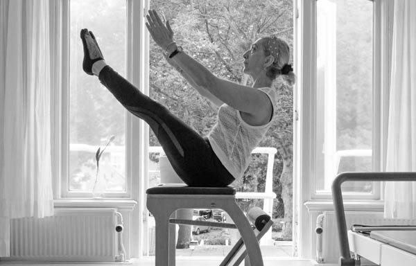 Pilates exercise in The Hague Netherlands