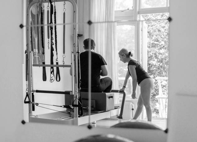 ASPIRE Pilates student and instructor Den Haag
